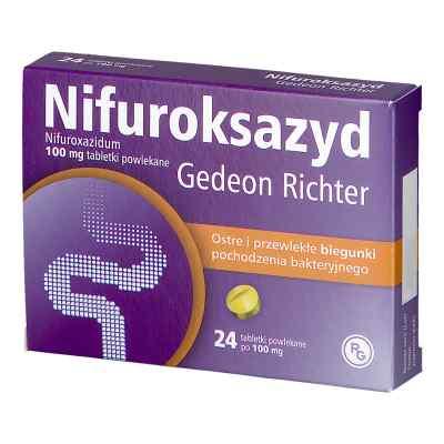 Nifuroksazyd Richter 100 mg tabletki  zamów na apo-discounter.pl