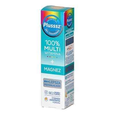 Plusssz 100% Multiwitamina + Magnez smak mango-pomarańcza  zamów na apo-discounter.pl