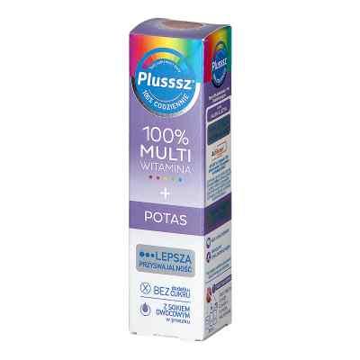 Plusssz 100% Multiwitamina + Potas  zamów na apo-discounter.pl