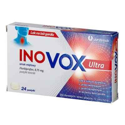 Inovox Ultra pastylki smak miętowy  zamów na apo-discounter.pl