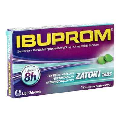 Ibuprom Zatoki tabletki  zamów na apo-discounter.pl