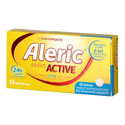 Aleric Deslo Active tabletki 2,5 mg  zamów na apo-discounter.pl