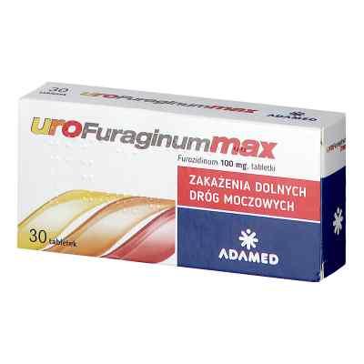 UroFuraginum Max 100 mg  zamów na apo-discounter.pl