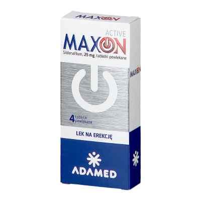 Maxon Active 25 mg tabletki powlekane  zamów na apo-discounter.pl