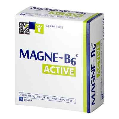 Magne B6 Active, saszetki  zamów na apo-discounter.pl