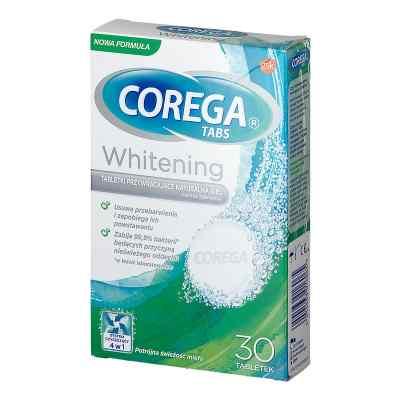 Corega Tabs Whitening  zamów na apo-discounter.pl
