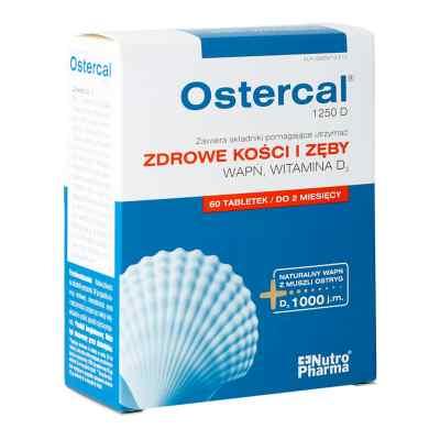 Ostercal 1250 D tabletki  zamów na apo-discounter.pl