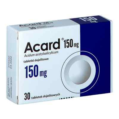 Acard 150 mg tabletki dojelitowe  zamów na apo-discounter.pl