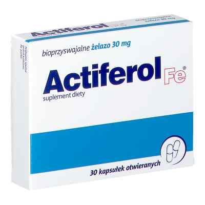 ActiFerol Fe 30 mg kapsułki  zamów na apo-discounter.pl