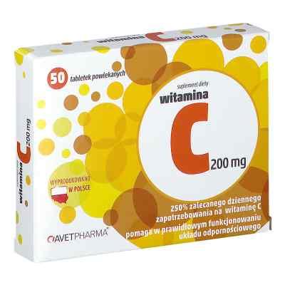 Witamina C 200 mg tabletki  zamów na apo-discounter.pl
