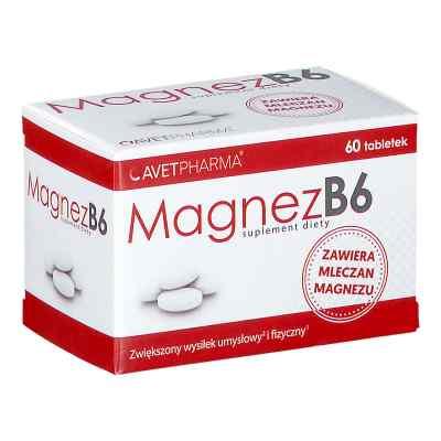 Magnez B6 tabletki  zamów na apo-discounter.pl