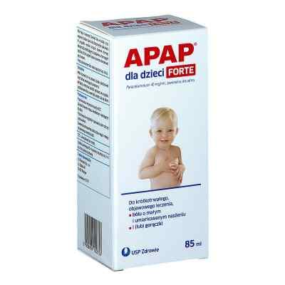 Apap dla dzieci Forte  zamów na apo-discounter.pl