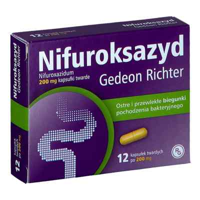 Nifuroksazyd Gedeon Richter (Nifuroksazyd Richter)  zamów na apo-discounter.pl