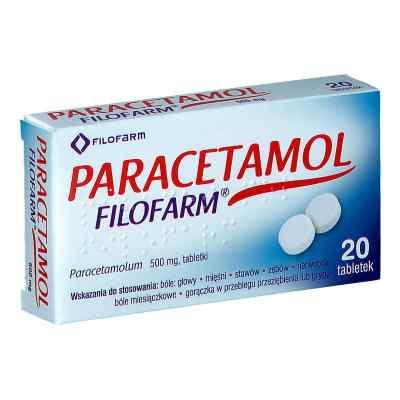 Paracetamol Filofarm  zamów na apo-discounter.pl