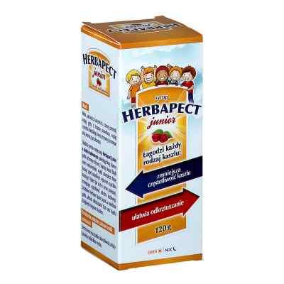 Herbapect Junior syrop o smaku malinowym  zamów na apo-discounter.pl