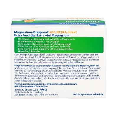 Magnesium Diasporal 400 Extra direkt Granulat  zamów na apo-discounter.pl