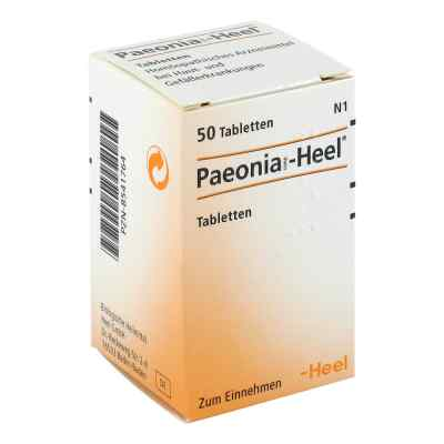 Paeonia Comp. Heel Tabl.