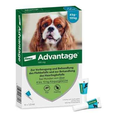 Advantage 100 f. Hunde Einzeldosispip.