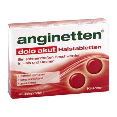 Anginetten dolo akut tabletki na ból gardła  zamów na apo-discounter.pl
