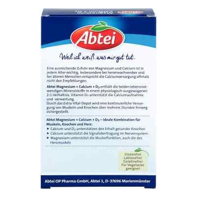 Abtei Magnez + Wapń + D3 Depot, tabletki