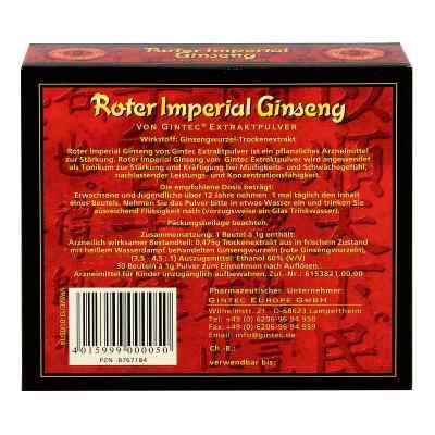 Roter Ginseng Imper.gintec Extraktplv.15%