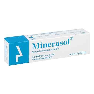 Minerasol mineralische Nasensalbe  zamów na apo-discounter.pl