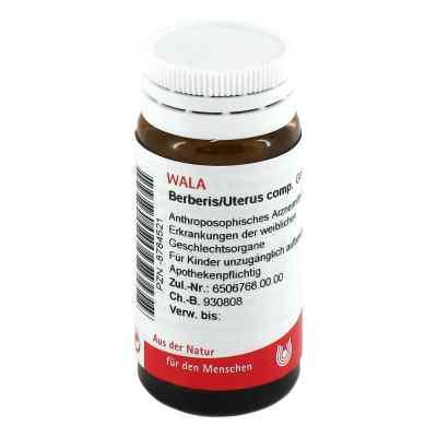 Berberis/uterus Comp. Globuli 20 g od WALA Heilmittel GmbH PZN 08784521
