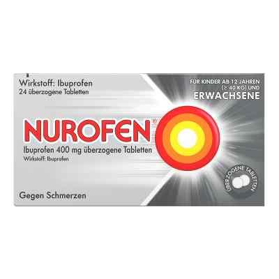 Nurofen Ibuprofen 400 mg ueberzogene Tabl.  zamów na apo-discounter.pl