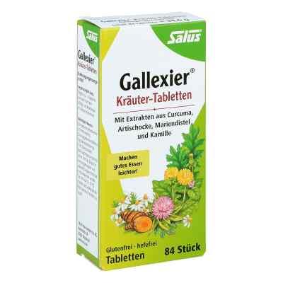 Gallexier Kräuter-tabletten Salus