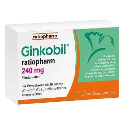Ginkobil ratiopharm 240 mg tabletki powlekane  zamów na apo-discounter.pl