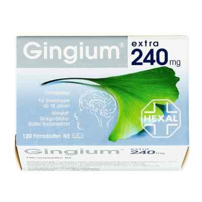 Gingium extra 240 mg tabletki