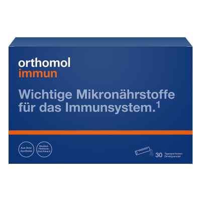 Orthomol Immun granulat  do bezpoś. stosowania malina/mentol  zamów na apo-discounter.pl