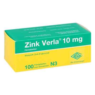 Zink Verla 10 mg Filmtabl.  zamów na apo-discounter.pl
