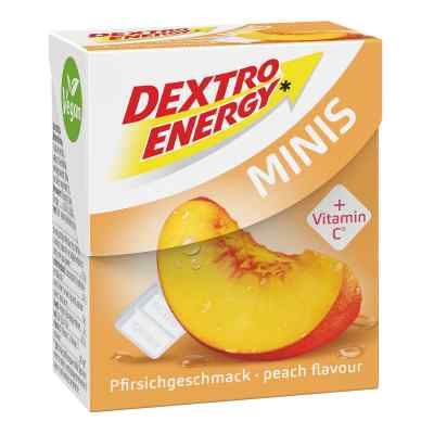 Dextro Energen cukierki o smaku brzoskwiniowy