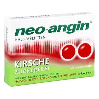 Neo-Angin tabletki na gardłon Kirsche  zamów na apo-discounter.pl