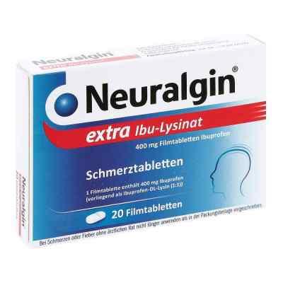 Neuralgin extra Ibu Lysinat Filmtabl.  zamów na apo-discounter.pl