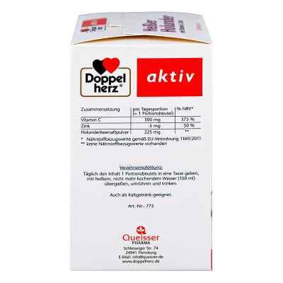 Doppelherz  Heißer Holunder granulat czarny bez z wit.C + cynk  zamów na apo-discounter.pl