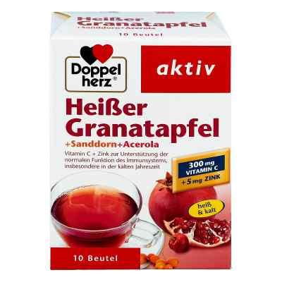 Doppelherz Heisser Granatapfel granulat granat z rokitnikiem i a  zamów na apo-discounter.pl