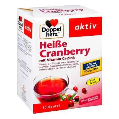 Doppelherz Heiße Cranberry granulat żurawinowy z wit.C + cynk  zamów na apo-discounter.pl