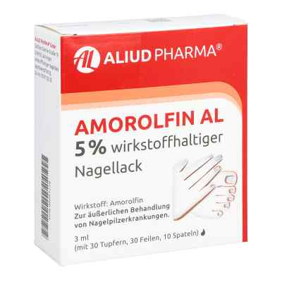 Amorolfin Al 5% wirkstoffhaltiger Nagellack  zamów na apo-discounter.pl