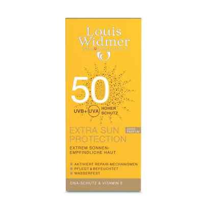 Louis Widmer Extra Sun krem przeciwsłoneczny 50UV, nieperfum  zamów na apo-discounter.pl