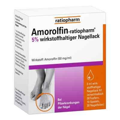 Amorolfin-ratiopharm lakier przeciwgrzybiczny 5%