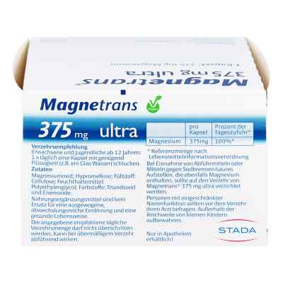 Magnetrans 375 mg ultra kapsulki