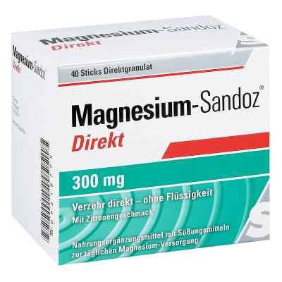 Magnesium-Sandoz Direkt, pelety z magnezem 300  zamów na apo-discounter.pl