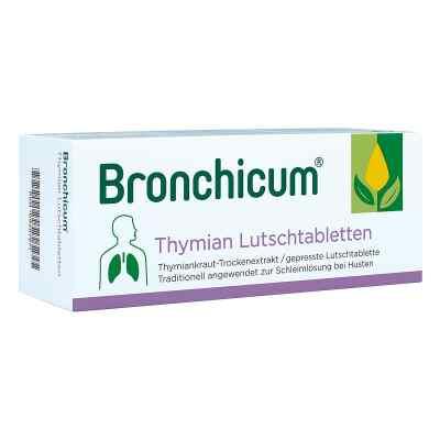 Bronchicum tymiankowe pastylki do ssania