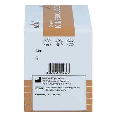 Nasara Kinesio Tape 5cmx5m beige inkl.Spenderbox  zamów na apo-discounter.pl