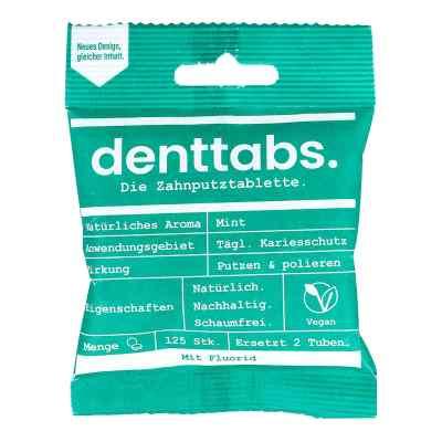 Denttabs tabletki do czyszczenia zębów ze stevią  zamów na apo-discounter.pl