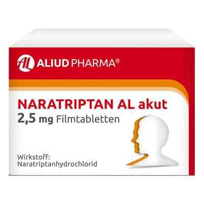 Naratriptan Al akut 2,5 mg Filmtabletten  zamów na apo-discounter.pl