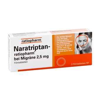 Naratriptan ratiopharm bei Migraene Filmtabletten  zamów na apo-discounter.pl