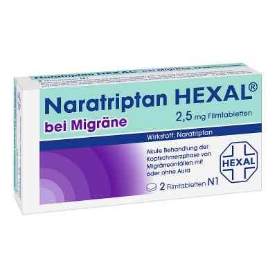 Naratriptan Hexal bei Migraene 2,5 mg Filmtablettten